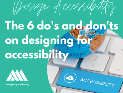 The 6 Dos and don'ts on designing for accessibility